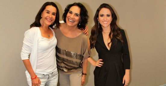 20 de Maio - Lucélia Santos, Regina Duarte e Tatá Werneck participam do aniversário do programa Altas Horas.