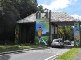 6 de Julho – Pórtico - Entrada da cidade — Teresópolis (RJ) — 126 Anos em 2017.