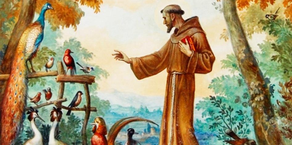 5 de Julho – Francisco de Assis e as aves.