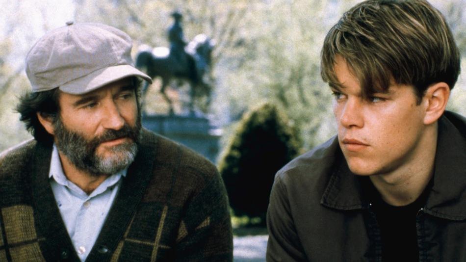 Gênio Indomável, Matt Damon, Will Hunting, Robin Williams, Sean Maguire, Ben Affleck, Chuckie, 1998, EUA, Dublado, 9