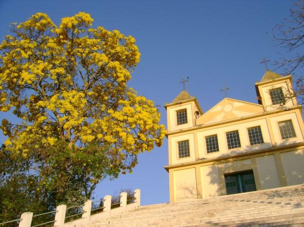 13 de Agosto – Igreja Nossa Senhora da Conceição no Distrito do Bairro Alto inaugurada em 1919. — Natividade da Serra (SP) — 44 Anos em 2017.
