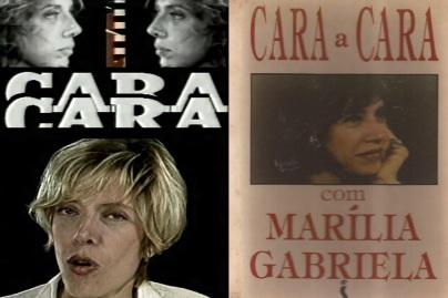 31 de Maio - Marília Gabriela em Cara a Cara.