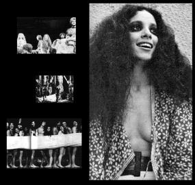 8 de Junho - Sônia Braga em 1970, quando atuava na peça 'Hair'.