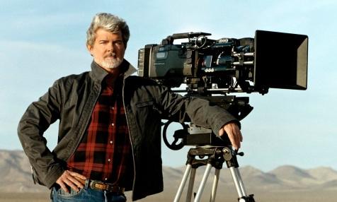 14 de Maio - 1944 – George Lucas, cineasta estadunidense, câmera, deserto.