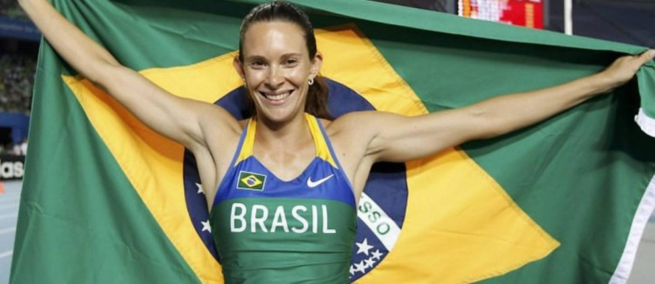 16 de Março - Fabiana Murer - atleta brasileira.