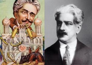 5 de Agosto – Osvaldo Cruz - 1872 – 145 Anos em 2017 - Acontecimentos do Dia - Foto 6 - Caricatura.