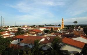 23 de Agosto — Visão panorâmica da cidade com a Igreja Matriz ao fundo — Pentecoste (CE) — 144 Anos em 2017.