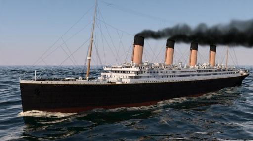 10 de Abril - 1912 — O RMS Titanic deixa o porto de Southampton, Inglaterra, em sua primeira e única viagem.