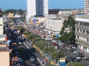 24 de Setembro – Vista parcial da cidade — Tramandaí (RS) — 52 Anos em 2017.