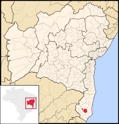 9 de Maio - Localização de Teixeira de Freitas na Bahia