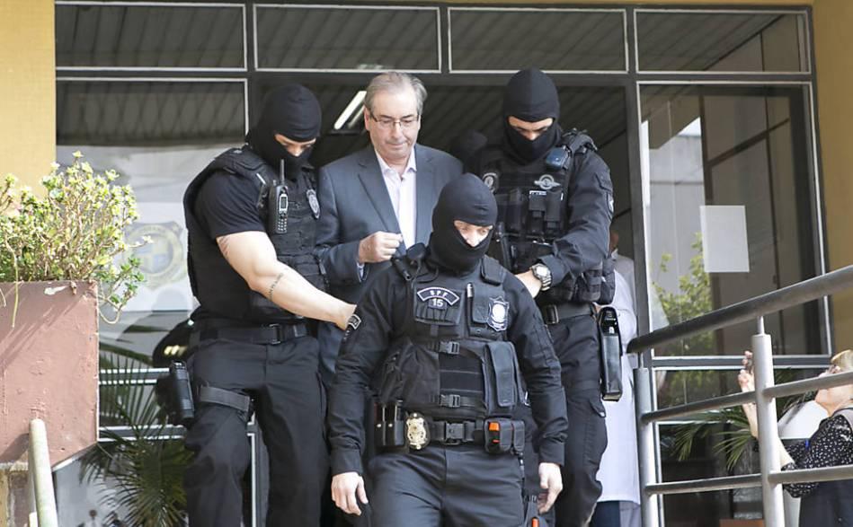 Eduardo Cunha é preso pela Polícia Federal