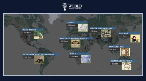 21 de Abril - 2009 — UNESCO e Biblioteca do Congresso dos Estados Unidos anunciam oficialmente o lançamento da Biblioteca Digital Mundial.