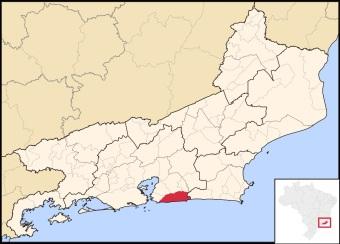 26 de Maio - Localização de Maricá no Rio de Janeiro.