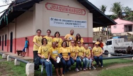 4 de Junho - Grupo religioso na aniversário de 61 anos da cidade - Joaquim Nabuco (PE) - a Terra do Açucar.
