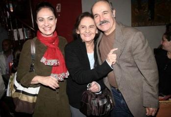 18 de Agosto – Osmar Prado - 1947 – 70 Anos em 2017 - Acontecimentos do Dia - Foto 20 - Eliane Giardini, Laura Cardoso e Osmar Prado.