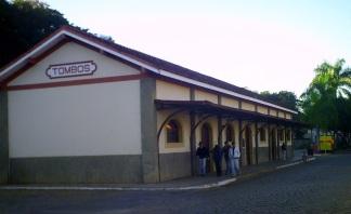 21 de Maio - Estação Rodoviária - Tombos (MG) 165 Anos.