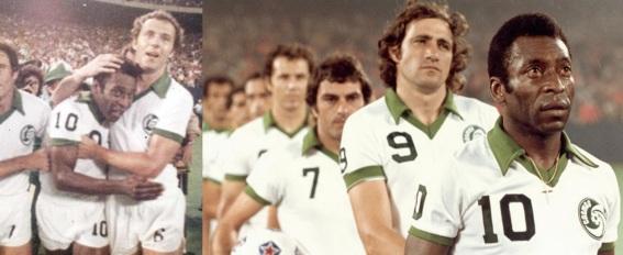 11 de Setembro – Franz Beckenbauer - 1945 – 72 Anos em 2017 - Acontecimentos do Dia - Foto 13 - Franz Beckenbauer e Pelé, no Cosmos.