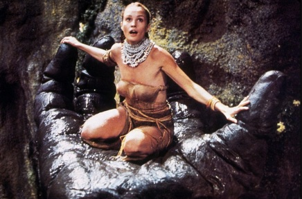 20 de Abril - 1949, Jessica Lange, atriz estadunidense, em King Kong.