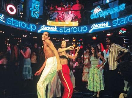 8 de Junho - Paulette e Sônia Braga em 'Dancin' Days'.