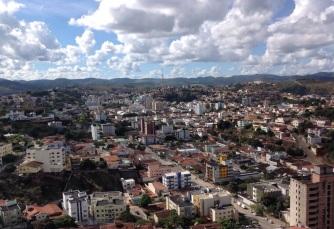 7 de Setembro – Vista panorâmica da cidade — Teófilo Otoni (MG) — 164 Anos em 2017.