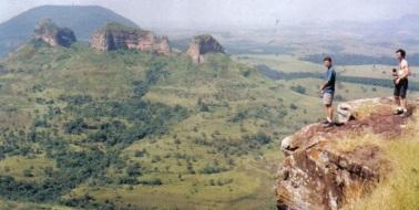14 de Abril - Pedra do Indio, em Botucatu, São Paulo.