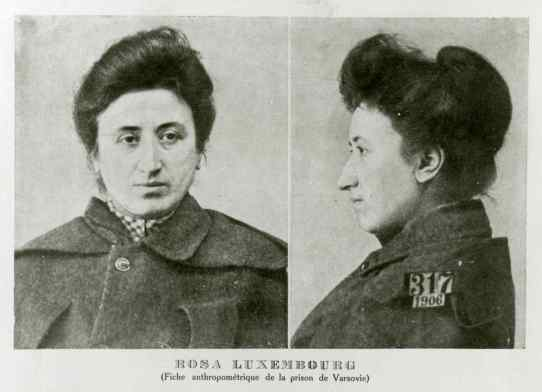 Rosa Luxemburgo, filósofa, marxista, economista, política, líder, 9