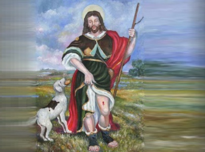16 de Agosto – 1327 - São Roque (Roque de Montpellier), santo católico (n. 1295).