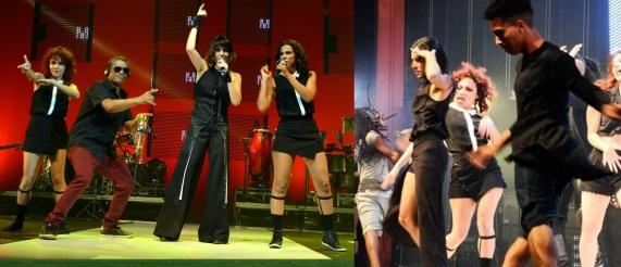 8 de Setembro – Fernanda Abreu - 1961 – 56 Anos em 2017 - Acontecimentos do Dia - Foto 12 - Fernanda na turnê Amor Geral - O Show, em 2016.