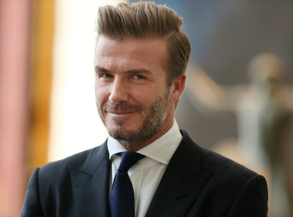 2 de maio - David Beckham
