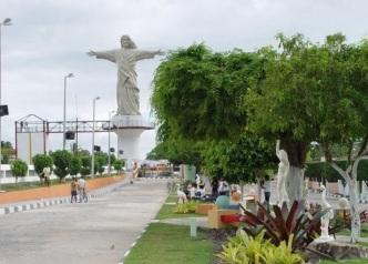 23 de Junho - Monumento do Cristo da cidade — Esplanada (BA) — 86 Anos.