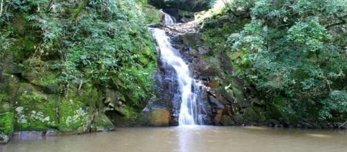 12 de Maio - Cascata Poço Verde - Paraíso do Sul no Rio Grande do Sul.