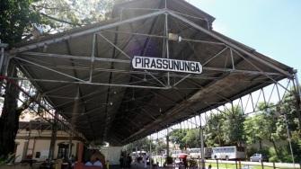 6 de Agosto – Antiga estação ferroviária da cidade — Pirassununga (SP) — 194 Anos em 2017.