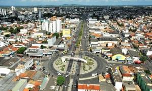 18 de Setembro – Foto aérea da cidade — Feira de Santana (BA) — 184 Anos em 2017.