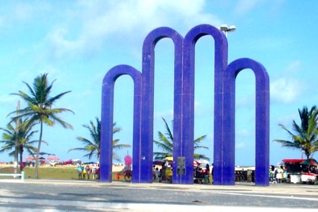 Arcos da Orla de Atalaia, Aracaju (SE).