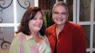 11 de Maio - Bete Mendes e Regina Dourado na novela Seus Olhos.