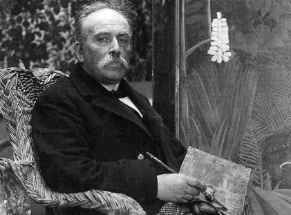 21 de Maio - 1844 - Henri Rousseau, pintor francês (m. 1910).