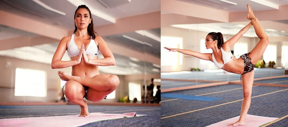 21 de Setembro – Daniele Suzuki - 1977 – 40 Anos em 2017 - Acontecimentos do Dia - Foto 19 - Praticando Bikram Yoga.