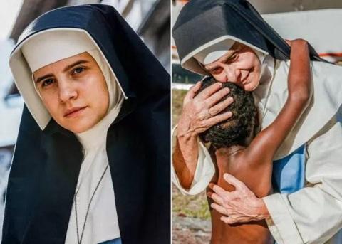 26 de Maio - 1914 – Irmã Dulce, religiosa brasileira - o filme - atrizes representam Dulce jovem e idosa.