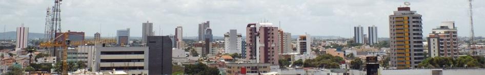 18 de Setembro – Vista da linha do horizonte de Feira de Santana, a partir do edifício Metropolitan Center — Feira de Santana (BA) — 184 Anos em 2017.
