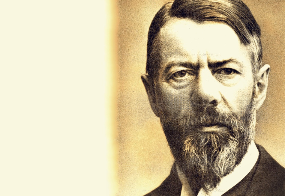 Portrait of German political economist and social scientist Max Weber (1864 - 1920), a founder of the discipline of sociology, who called himself 'The Enemy of the Squires' and championed the cause of social and economic reform in Wilhelmine Germany, circa 1910. His most famous work is 'The Protestant Ethic and the Spirit of Capitalism' (1905) in which he explored the cultural and religious roots of Western capitalism. (Photo by Hulton Archive/Getty Images)
