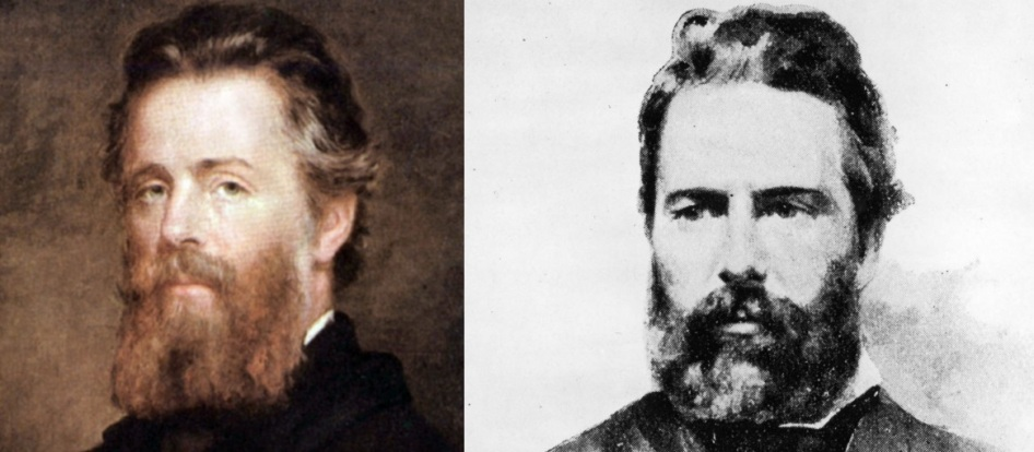 1 de Agosto – 1819 – Herman Melville, escritor estadunidense (m. 1891).