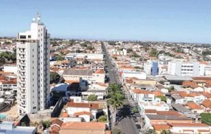 28 de Agosto — Vista panorâmica da cidade — Araguari (MG) — 129 Anos em 2017.