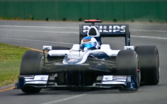23 de Maio - Rubens durante o GP da Austrália, em 2010, na Williams.