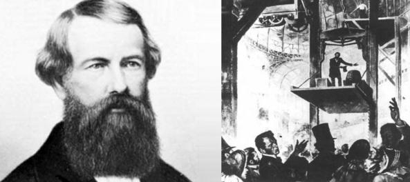 3 de Agosto – 1811 – Elisha Otis, inventor estadunidense (m. 1861).