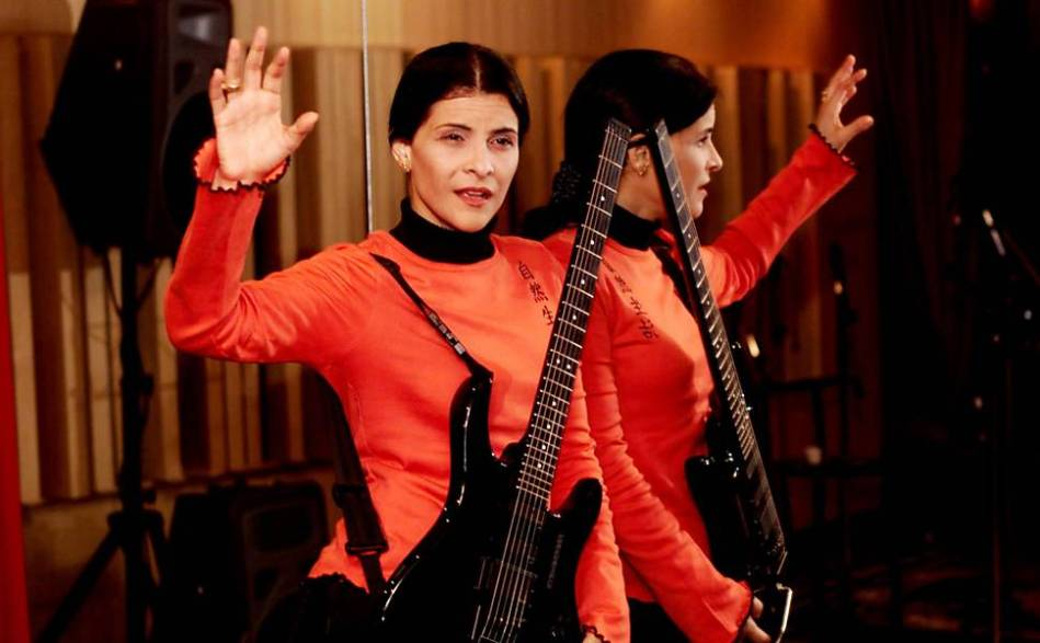 A cantora Marina Lima, em imagem de 2000