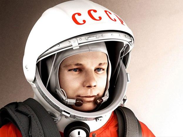 9 de março - Yuri Gagarin, cosmonauta, soviético