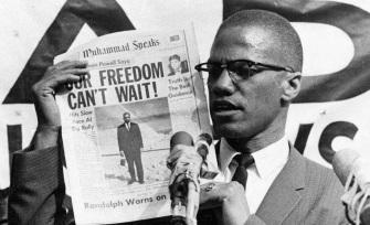 19 de Maio - 1925 – Malcolm X, líder negro estadunidense (m. 1965 - Nossa liberdade não pode esperar.