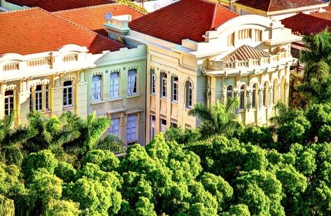 6 de Agosto – Instituto de Educação de Pirassununga (detalhe) — Pirassununga (SP) — 194 Anos em 2017.