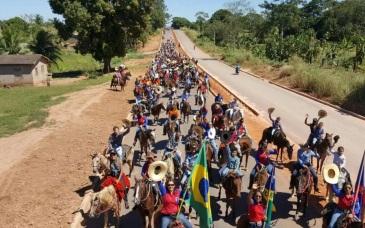 11 de Maio - Cavalgada de Santa Luzia D'Oeste (RO).