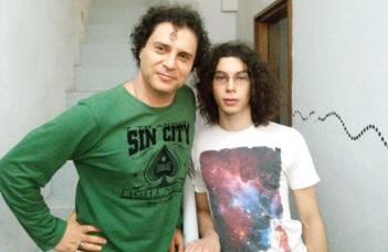 21 de Maio - Frejat com seu filho Rafael.